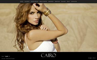 Sito web con blog per i fotografi - Theme Cairo