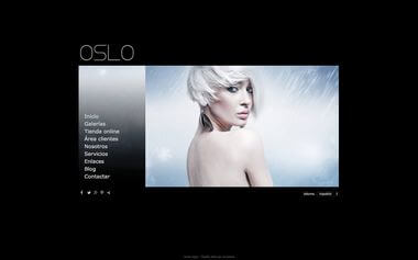 Photographer Website - Theme Oslo