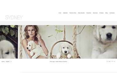 Photographer Website - Theme Sydney